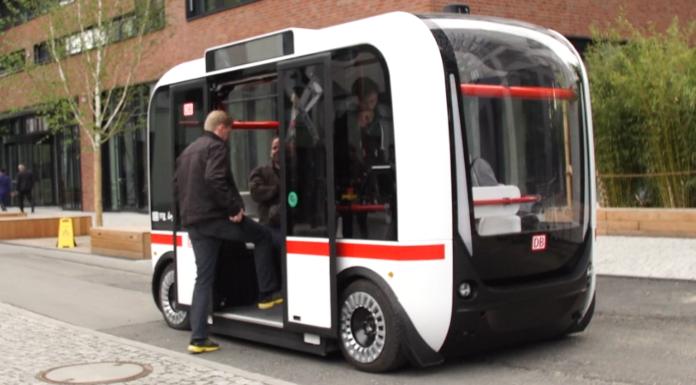 Olli der erste selbstfahrende Bus