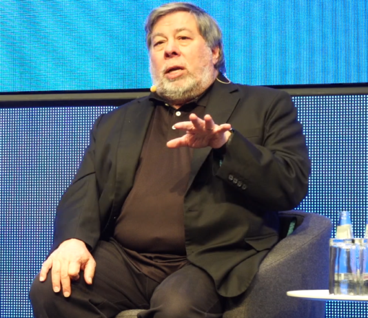 Steve Wozniak auf der CUBE Tech Fair