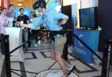 Eintauchen in VR-Welten mit Cyberith