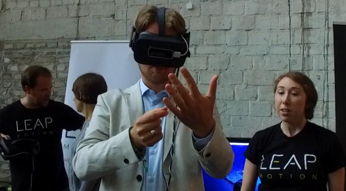 Leap Motion bringt die Hände in die virtuelle Realität