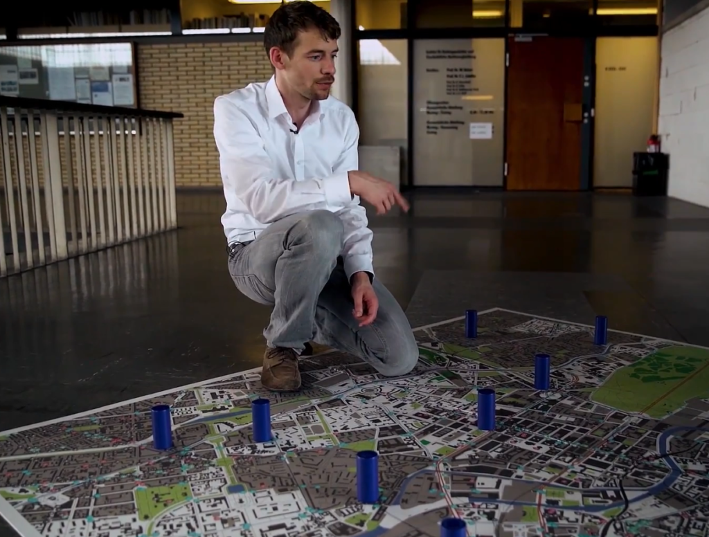 Geospin representative explains their Big Data Analysis