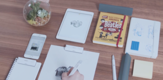 Der eBeam digitalisiert deine Handschrift