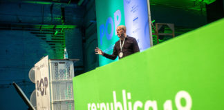 Peter Frase auf der re:publica 2018