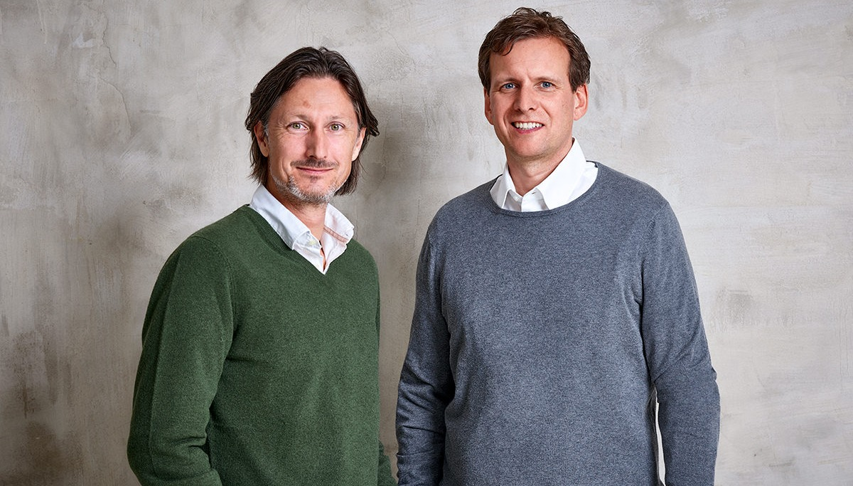 Holger G. Weiss (CEO & Managing Director ) on the left with Patrick Weissert (COO & Managing Director) on the right.