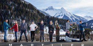 The MapTiler startup team in Switzerland.
