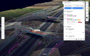 Screenshot of the SenSat App Mapp