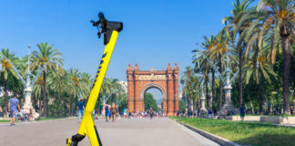 Ride Like the Wind: Wind Mobility Makes E-Scooters to Green Cities